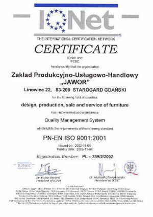 ISO 9001:2001 EN